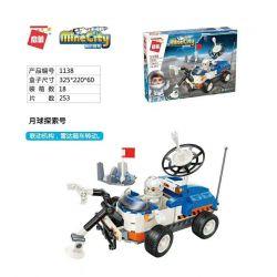 Enlighten 1138 Qman 1138 Xếp hình kiểu Lego MINECITY My City Moon Exploration Number Khám Phá Mặt Trăng Số 253 khối