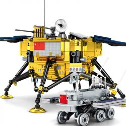 SEMBO 203301 Xếp hình kiểu Lego SPACE FLIGHT Explore The Mystery Of The Universe Moon Detection Thám Hiểm Mặt Trăng 702 khối