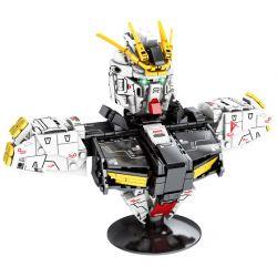 SHENG YUAN SY SY7512 7512 Xếp hình kiểu Lego Star Soldier Gundam Rampant Hung Hăng 486 khối