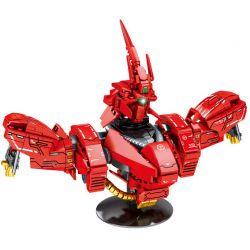 SHENG YUAN SY SY7520 7520 Xếp hình kiểu Lego Star Soldier Gundam Zarbi Zarbi. 528 khối