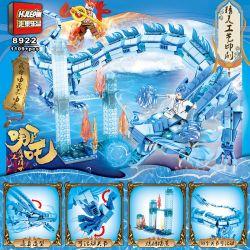 HJLEPIN 8922 Xếp hình kiểu Lego NEZHA What Is The Magic 丙龙 丙龙. 1109 khối