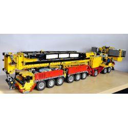 REBRICKABLE MOC-5721 5721 MOC5721 Xếp hình kiểu Lego TECHNIC Liebherr 1750 6627 khối