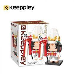 KEEPPLEY K20106 20106 Xếp hình kiểu Mini Blocks FAIRY SWORDPLAY Yin Yang White Boy Cậu Bé Trắng 168 khối