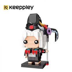 KEEPPLEY K20107 20107 Xếp hình kiểu Mini Blocks FAIRY SWORDPLAY Yin Yang Black Boy Cậu Bé Da đen