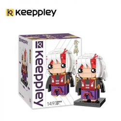 KEEPPLEY K20110 20110 Xếp hình kiểu Mini Blocks FAIRY SWORDPLAY Yin Yang Ibaraki Ibaraki. 149 khối