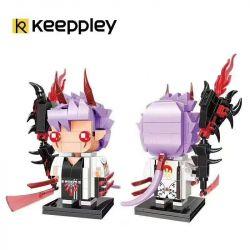 KEEPPLEY K20111 20111 Xếp hình kiểu Mini Blocks FAIRY SWORDPLAY Yin Yang Ghost, Awakening Ghost Cut · Awakening