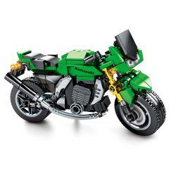 SEMBO 701112 Xếp hình kiểu Lego MOTO Enjoy The Ride Kawasaki Z1000 Kawasaki Z1000. 227 khối