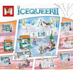 MINGGE MG126 Xếp hình kiểu Lego IceQueer II Frozen Ice Castle 4 4 Loại Lâu đài Băng 432 khối