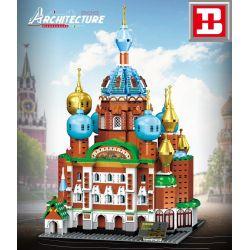 HAPPY BUILD YC-20003 20003 YC20003 Xếp hình kiểu Lego ARCHITECTURE Architecture ST.Petersburg Landmark Building St. Petersburg, Russia, Rescue The World Cathedral 1 400 Nhà Thờ Chúa Cứu Thế Trên Máu đ