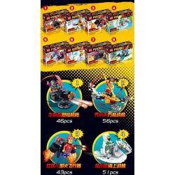 FROG BABY OBM 99622 Xếp hình kiểu Lego MONKIE KID Qi Tian Da Sheng Sun Wukong Hundreds Of Eight Beef Soldiers Flame Machine Guns, Qi Xiaomenee Fighters, Red Children's Evil Fire, Long Xiaoyong Sea Bat