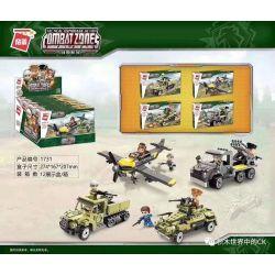 Enlighten 1731 Qman 1731 Xếp hình kiểu Lego TACTICAL ESPIONAGE ACTION Tactical Espionage Action Combat Zones Battlefield Series 4 4 Mô Hình