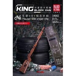 MOULDKING 14002 Xếp hình kiểu Lego BLOCK GUN Mauser 98K Sniper Rifle Yuding Firearms Master 98K Sniper Rifle Súng Bắn Tỉa Mauser 98K 1025 khối