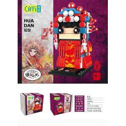CAYI 10031 Xếp hình kiểu Lego CHINATOWN National Tide Peking Opera Hua Dan Kinh Kịch Hua Dan 209 khối