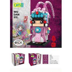 CAYI 10033 Xếp hình kiểu Lego CHINATOWN National Tide Beijing Opera Swan Kinh Kịch Võ Đang 251 khối