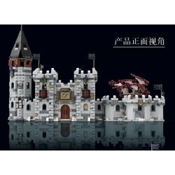 SUPER 18K K101 Xếp hình kiểu Lego GAME OF THRONES Game Of Thrones Winterfell Power And Game Winter City Thành Phố Mùa đông 2217 khối