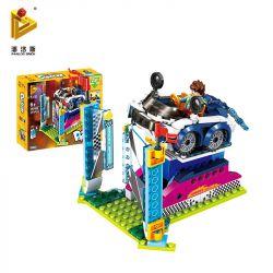 PanlosBrick 692003 Panlos Brick 692003 Xếp hình kiểu Lego Paradise Cool Speed Tốc độ Mát 218 khối