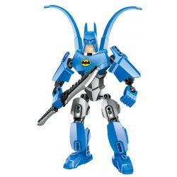 XSZ KSZ 505 Xếp hình kiểu Lego MARVEL SUPER HEROES Classic Batman Người dơi cổ điển 28 khối