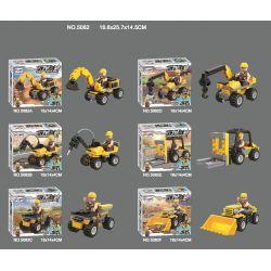 WINNER JEMLOU 5082 5082A 5082B 5082C 5082D 5082E 5082F Xếp hình kiểu Lego GOD OF WAR Vigorous God Of War Hercules Six In One Mech Hercules Sáu Trong Một Mech gồm 6 hộp nhỏ