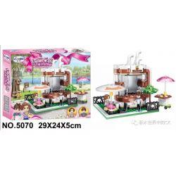 Winner 5070 Xếp hình kiểu Lego FRIENDS Coffee Shop Quán cà phê 184 khối