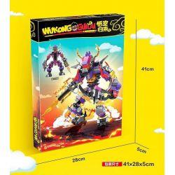 BLANK 692 Xếp hình kiểu Lego MONKIE KID Goku Returns Niu Devil King Roker Niu Quỷ Vua Roker 410 khối