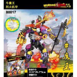 BLANK 80017 Xếp hình kiểu Lego MONKIE KID Monky Lengend Qi Tian Dasheng Niu Devil King Roker Niu Quỷ Vua Roker 331 khối