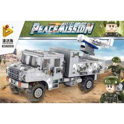 PanlosBrick 636008 Panlos Brick 636008 Xếp hình kiểu Lego PEACEMISSION Peace Mission Small Proximity Reconnaissance Transfers Drone Máy Bay Không Người Lái Trinh Sát Và Hiệu Chỉnh Tầm Ngắn Nhỏ 439 khố