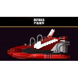PRCK 69960 Xếp hình kiểu Lego FROZEN Nike Kobe VIII System Elite Nike Kobe 8 Year Of The Snake(Port)红蛇 Nike Kobe 8 Year Of The Snake (Port) 红 蛇 502 khối