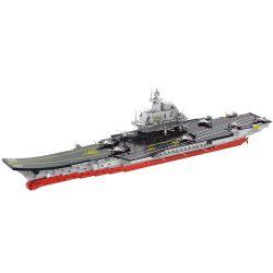 LELE BROTHER 8556 Xếp hình kiểu Lego MILITARY ARMY Liaoning Aircraft Carrier 1 306 USS Liêu Ninh 1 306 2165 khối
