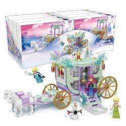 ELEPHANT JX90085-01 90085-01 JX90085-02 90085-02 JX90085-03 90085-03 JX90085-04 90085-04 SHENG YUAN SY 1614 Xếp hình kiểu Lego Froezn Frozen Fantasy Horse Scene 4 Combination Giấc Mơ Vận Chuyển Cảnh L