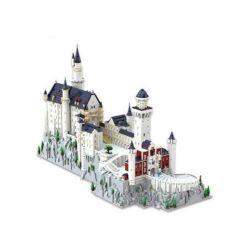 KAIYU K86201 86201 Xếp hình kiểu Lego CREATOR Neuschwanstein Castle, Bavaria Germany Bavarian New Swan Fort Lâu đài Neuschwanstein, Bavaria, Đức 13500 khối