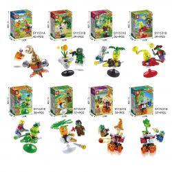 SHENG YUAN SY SY1531 1531 Xếp hình kiểu Lego PLANTS VS ZOMBIES Plant VS Zombie 2 8 8 Mô Hình 305 khối