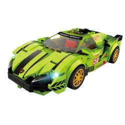 FORANGE FC1602 1602 Xếp hình kiểu Lego RACERS Racing Club Lamborghini Speed super Run Lamborghini. 281 khối