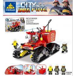 Kazi KY80528 80528 Xếp hình kiểu Lego FIRE RESCURE City Fire Self-unloading Water Tank Fire Truck Xe Cứu Hỏa Bồn Nước Kiểu đổ 410 khối
