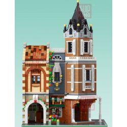 MOULDKING MOULD KING 16026 Xếp hình kiểu Lego MODULAR BUILDINGS Afternoon Tea Restaurant Small City Casual Afternoon Teahouse Quán Trà Chiều Giải Trí ở Thị Trấn Nhỏ 3039 khối