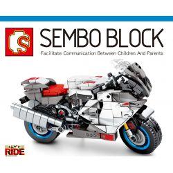 SEMBO 701202 Xếp hình kiểu Lego MOTO Aprilia RSV 1000R Enjoy The Ride Apulia RSV1000R Apulia RSV1000R. 297 khối