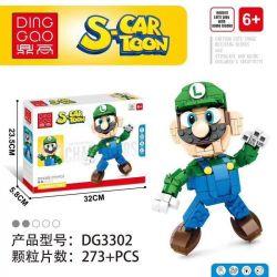 DINGGAO DG3302 3302 Xếp hình kiểu Lego S-Cartoon Super Mario Louis Louis. 273 khối
