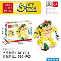 DINGGAO DG3301 3301 Xếp hình kiểu Lego S-Cartoon Super Mario Kuba Kuba. 330 khối