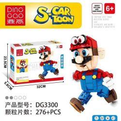 DINGGAO DG3300 3300 Xếp hình kiểu Lego S-Cartoon Super Mario Mario Mario. 276 khối