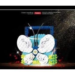 SHENZHEN RAEL ENTERTAINMENT 70001-1 70001-2 70001-3 70001-4 70001-5 70001-6 Xếp hình kiểu Lego CLASSIC Classic Handbag Handbag 6 6 Túi Xách gồm 6 hộp nhỏ 1985 khối