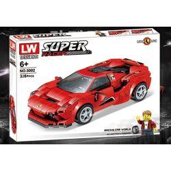 HJLEPIN 8936B LW 5002 LY 7802 PanlosBrick 666001 Panlos Brick 666001 Xếp hình kiểu Lego SPEED CHAMPIONS Ferrari F8 Tributo Fraili F8 Tributo Ferrari F8 Tribute. 275 khối
