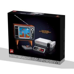 1995 71724 BLANK 0003 63300 JOKER 71301 MOULDKING MOULD KING 10013 Xếp hình kiểu Lego SUPER MARIO Nintendo Entertainment System Super Mario NES Game Machine Hệ Thống Giải Trí Nintendo 2646 khối