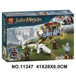 Bela 11347 Lari 11347 BLANK 80031 Xếp hình kiểu Lego HARRY POTTER Beauxbatons' Carriage Arrival At Hogwarts Harry Potter Carriage Of Berspad Magic School Arrival Hogwartz Beauxbatons 'Carriage Đến Hog