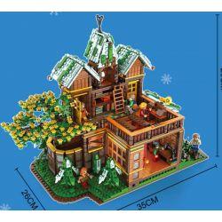 JUHANG 86002 JUHANG TECHNOLOGY 86002 Xếp hình kiểu Lego FIELD ARMY The Time Room Longbow Apac Apac Của Longbow 2466 khối
