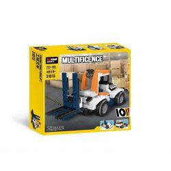 Decool 31013 Jisi 31013 XINH 5504 Xếp hình kiểu Lego CREATOR Sunset Track Racer Three In One Sunset Venue Racing Đường đua Hoàng Hôn 221 khối