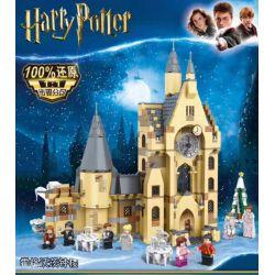 Bela 11344 Lari 11344 BLANK 80025 J 10001 J BRAND J10001 10001 LEDUO 49008 SX 6010 Xếp hình kiểu Lego HARRY POTTER Hogwarts Clock Tower Harry Potter Hogworth Clock Tower Tháp đồng Hồ Hogwarts 922 khối