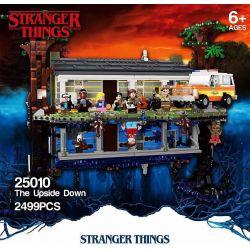 BLANK 25010 Xếp hình kiểu Lego STRANGER THINGS The Upside Down Surprising Story Reverse The World Sự Lộn Ngược 2287 khối