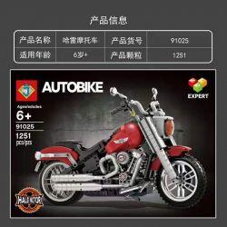 BLANK 40004 G BRAND 928016 J 91025 928016 J BRAND 91025 LARI 11397 SX 6009 Xếp hình kiểu Lego CREATOR EXPERT Harley-Davidson Fat Boy Harley Davidon Fee Cậu Bé Béo Harley-davidson 1023 khối