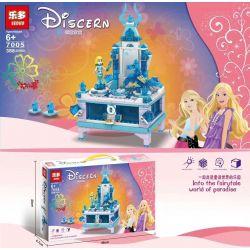 1995 20005 LEDUO 7005 QUEEN 85019 SHENG YUAN SY SY1442 1442 Xếp hình kiểu Lego DISNEY PRINCESS Elsa's Jewellery Box Ice Snow Qiyuan 2 Aisha's Creative Jewelry Box Hộp Trang Sức Của Elsa 300 khối