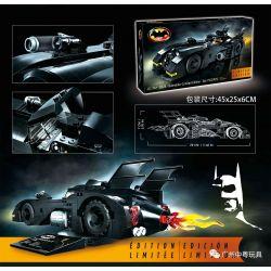 BLANK 8228 JISI 7147 Xếp hình kiểu Lego DC COMICS SUPER HEROES 1989 Batmobile - Limited Edition 1989 Batter Limited Version 1989 Batmobile - Phiên Bản Giới Hạn 366 khối