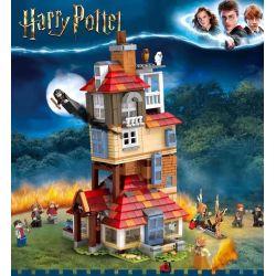 BLANK 70070 7185 80009 TANK 11572 Xếp hình kiểu Lego HARRY POTTER Attack On The Burrow Harry Potter Offensive Tấn Công Vào Hang 1047 khối